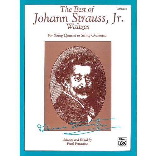 ALFRED PUBLISHING STRAUSS JOHANN - BEST OF STRAUSS WALTZES - SECOND VIOLA