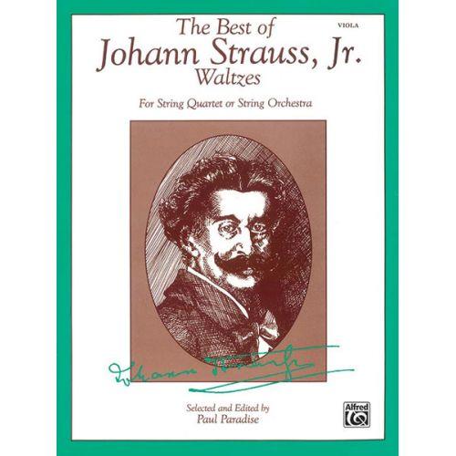 ALFRED PUBLISHING STRAUSS JOHANN - BEST OF STRAUSS WALTZES - VIOLA