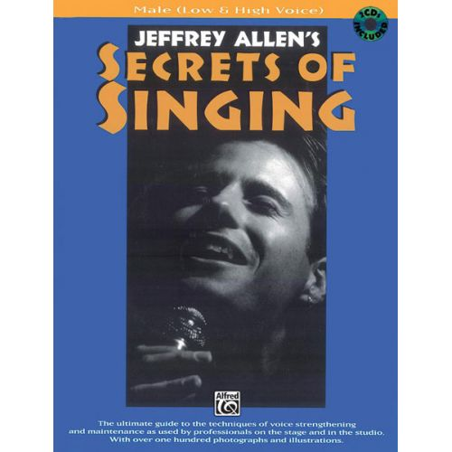 ALFRED PUBLISHING SECRETS OF SINGING + CD - MALE VOICE AND PIANO