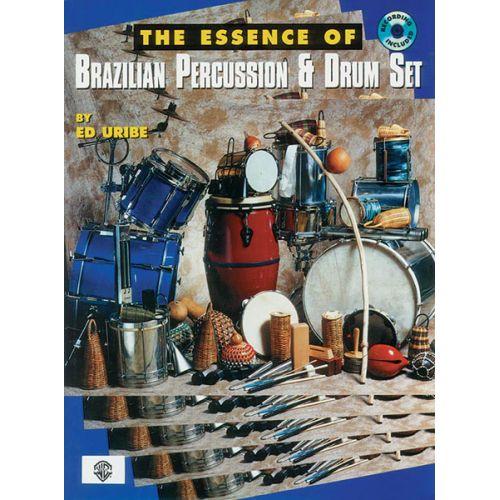 ALFRED PUBLISHING URIBE ED - ESSENCE OF BRAZILIAN + CD - PERCUSSION
