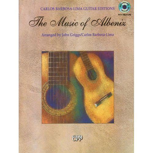 ALFRED PUBLISHING ALBENIZ ISAAC - MUSIC OF ALBENIZ - GUITAR