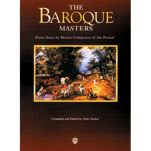 ALFRED PUBLISHING PIANO MASTERS: BAROQUE - PIANO