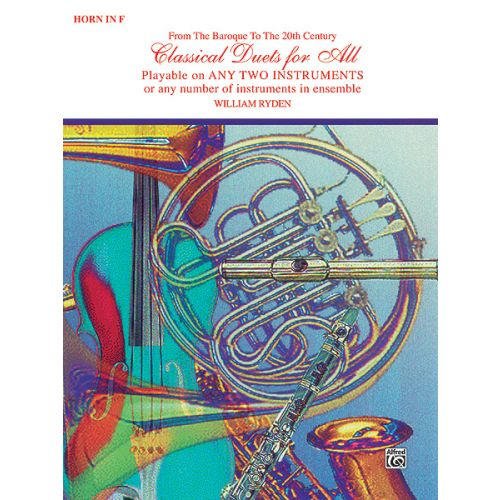 ALFRED PUBLISHING CLASSICAL DUETS - FRENCH HORN ENSEMBLE