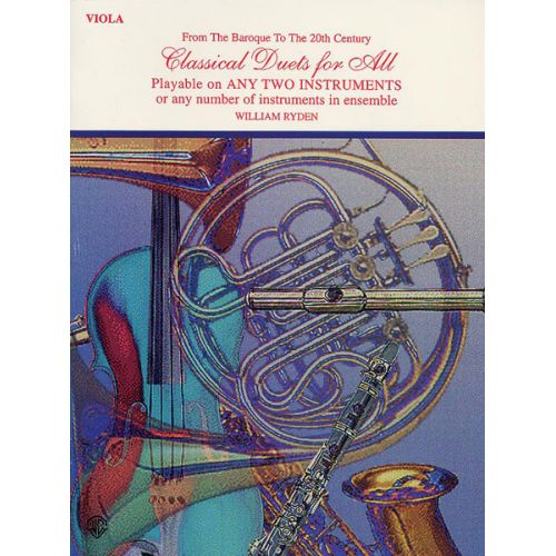 ALFRED PUBLISHING CLASSICAL DUETS FOR ALL - VIOLA ENSEMBLE