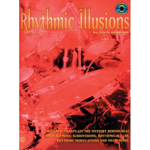 ALFRED PUBLISHING RHYTHMIC ILLUSIONS + CD - DRUMS & PERCUSSION