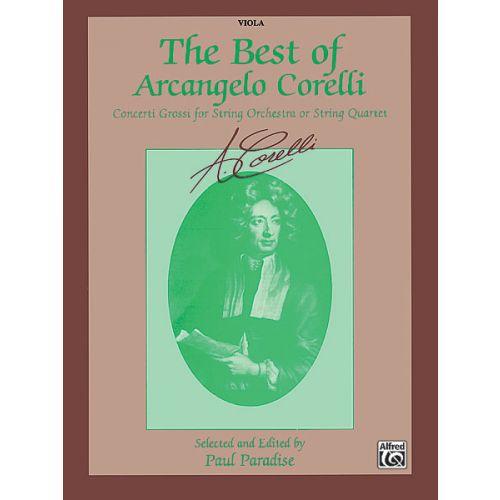 ALFRED PUBLISHING BEST OF CORELLI - VIOLA