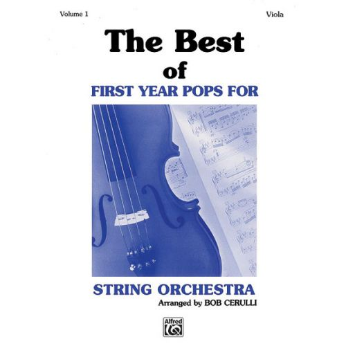 ALFRED PUBLISHING BEST OF FIRST YEAR POPS-VIOLA - VIOLA SOLO