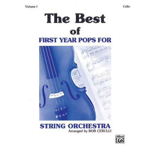 ALFRED PUBLISHING BEST OF FIRST YEAR POPS - CELLO SOLO
