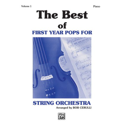 ALFRED PUBLISHING BEST OF FIRST YEAR POPS-PIANO - PIANO SOLO