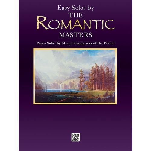 ALFRED PUBLISHING PIANO MASTERS: EASY ROMANTIC - PIANO