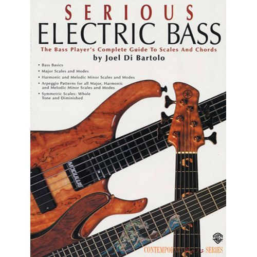 ALFRED PUBLISHING DI BARTOLO JOEL - SERIOUS ELECTRIC BASS - BASS GUITAR