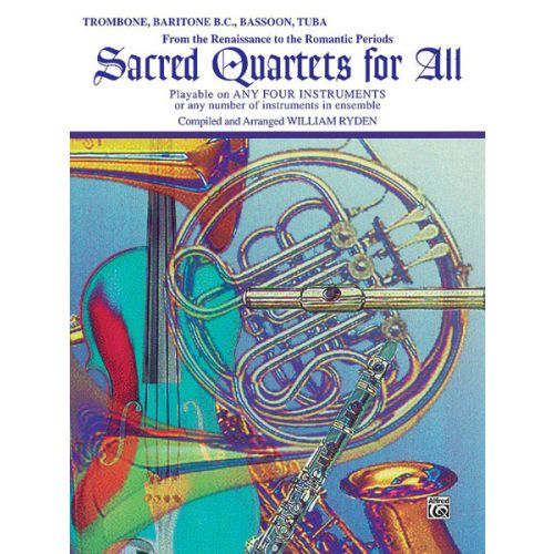 ALFRED PUBLISHING SACRED QUARTETS FOR ALL - STRING QUARTET ,ENSEMBLE (EASY)