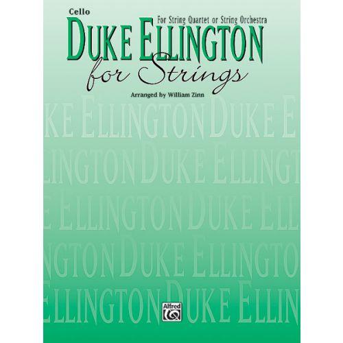 ALFRED PUBLISHING ELLINGTON DUKE - DUKE ELLINGTON FOR STRINGS - CELLO