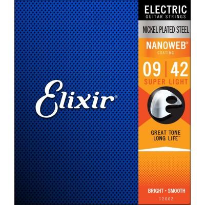 ELIXIR NANOWEB EXTRA LIGHT 9 11 16 24 32 42