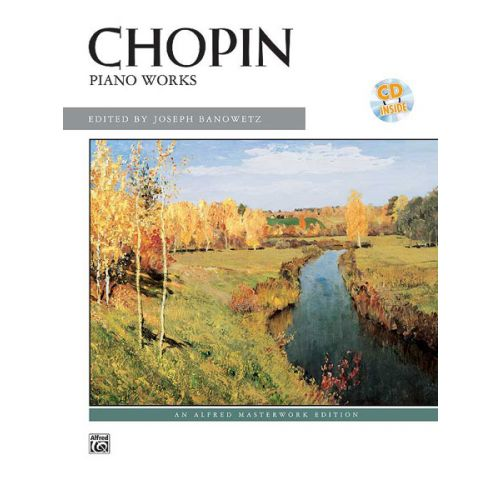 ALFRED PUBLISHING CHOPIN FREDERIC - PIANO WORKS : ARTIST SERIES + CD - PIANO