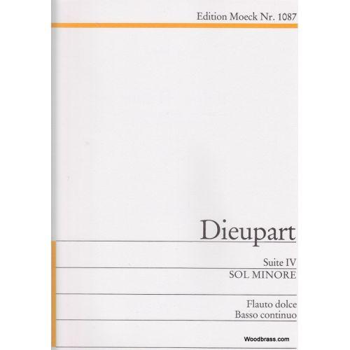 MOECK DIEUPART CH. - SUITE IV SOL MINORE - FLB ET BC