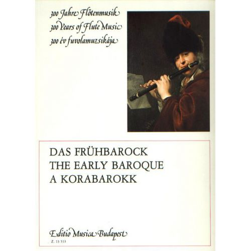 EMB (EDITIO MUSICA BUDAPEST) EARLY BAROQUE - FLUTE ET PIANO