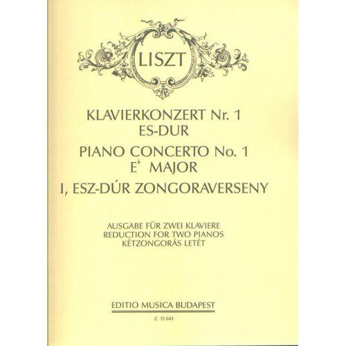 EMB (EDITIO MUSICA BUDAPEST) LISZT F. - CONCERTO N. 1 MI B. - 2 PIANOS
