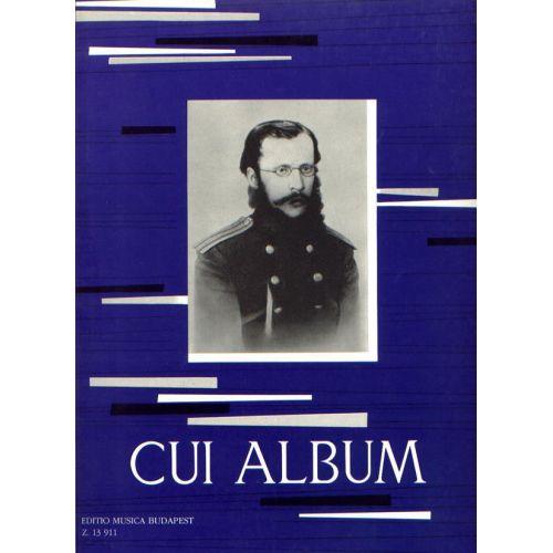 EMB (EDITIO MUSICA BUDAPEST) CUI C. - ALBUM PIANO