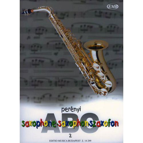 EMB (EDITIO MUSICA BUDAPEST) PERENYI - SAXOPHONE ABC VOL 2