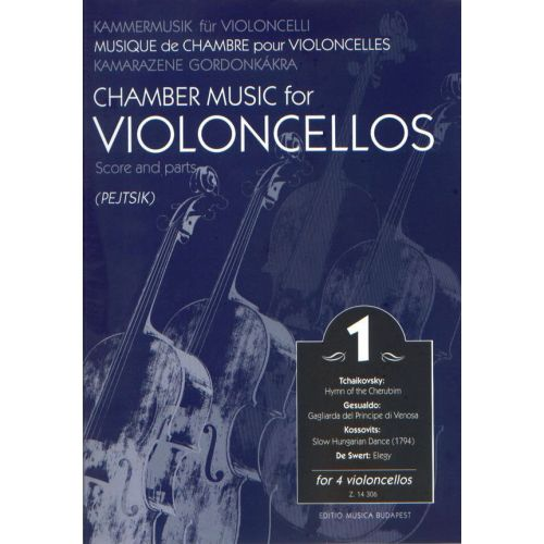 EMB (EDITIO MUSICA BUDAPEST) CHAMBER MUSIC VOL 1 - VIOLONCELLOS