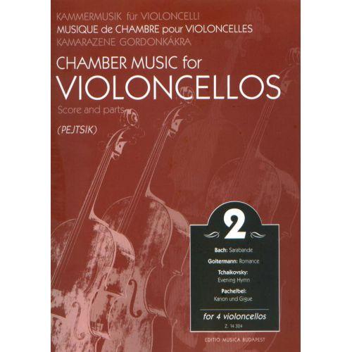 EMB (EDITIO MUSICA BUDAPEST) CHAMBER MUSIC VOL 2 - VIOLONCELLOS