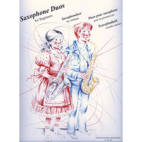 EMB (EDITIO MUSICA BUDAPEST) SAXOPHONE DUOS FOR BEGINNERS