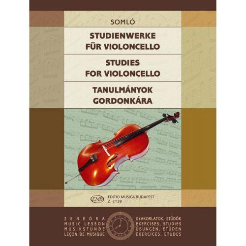EMB (EDITIO MUSICA BUDAPEST) SOMLO - STUDIES - CELLO