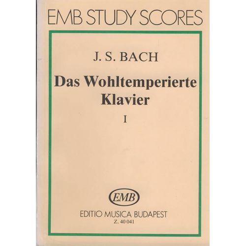 EMB (EDITIO MUSICA BUDAPEST) BACH J.S. DAS WOHLTEMPERIERTE KLAVIER, I