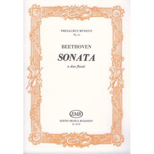 EMB (EDITIO MUSICA BUDAPEST) BEETHOVEN L. - SONATA - FLUTE