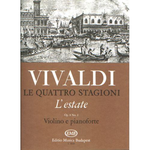 EMB (EDITIO MUSICA BUDAPEST) VIVALDI A. - L'ESTATE RV 31 OP.8/2