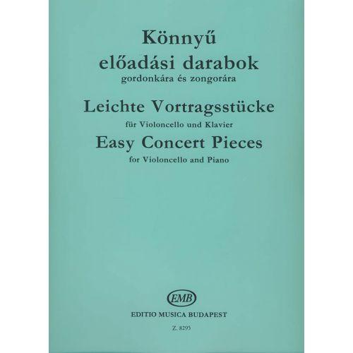 EMB (EDITIO MUSICA BUDAPEST) CONCERT PIECES - VIOLONCELLE ET PIANO
