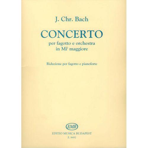 EMB (EDITIO MUSICA BUDAPEST) BACH J.S. - CONCERTO MI - BASSON ET PIANO