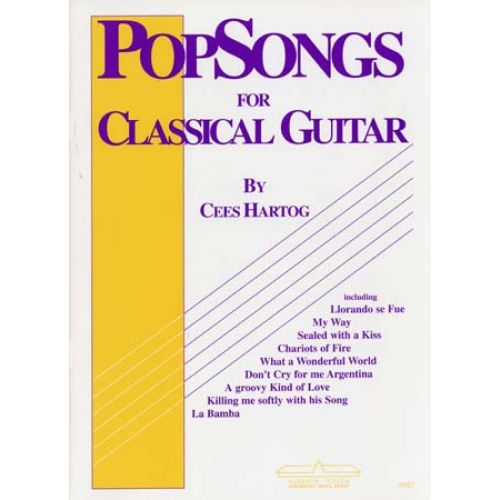 ALSBACH - EDUCA HARTOG C. - POP SONGS VOL.1 - GUITAR