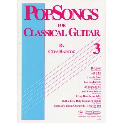 ALSBACH - EDUCA HARTOG C. - POP SONGS VOL.3 - GUITAR
