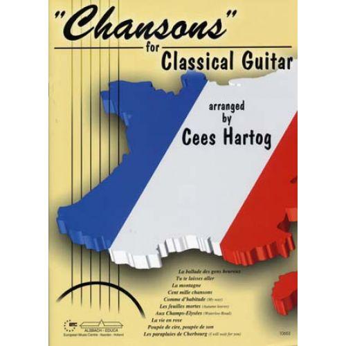 ALSBACH - EDUCA HARTOG C. - CHANSONS - CLASSICAL GUITAR