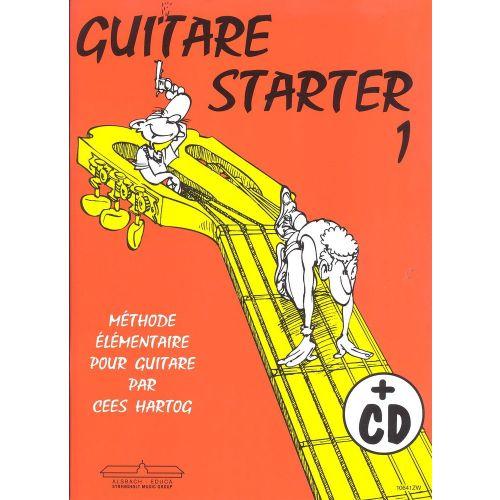 ALSBACH - EDUCA CEES HARTOG - GUITARE STARTER VOL.1 + CD