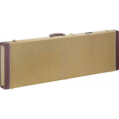 STAGG GCX-RB GD GOLD TWEED BASE GUIT.RECT.CASE