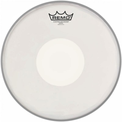 REMO CS-0114-00 - CONTROLLED SOUND COATED WHITE DOT 14