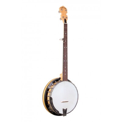 GOLD TONE BANJO MARPLE CLASSIC WITH STEEL RESONANCE RING AND HARD CASE