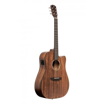 JN GUITARS DREADNOUGHT DREADNOUGHT ELECTRO-ACOUSTIC GUITAR WITH SOLID MAHOGANY TOP, DOVERN SERIES