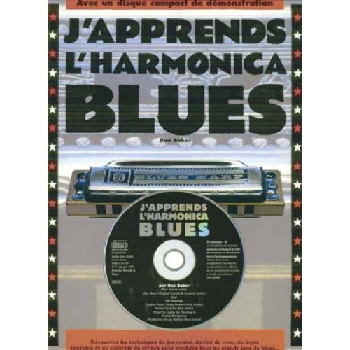 EMF BAKER D. - HARMONICA BLUES + CD