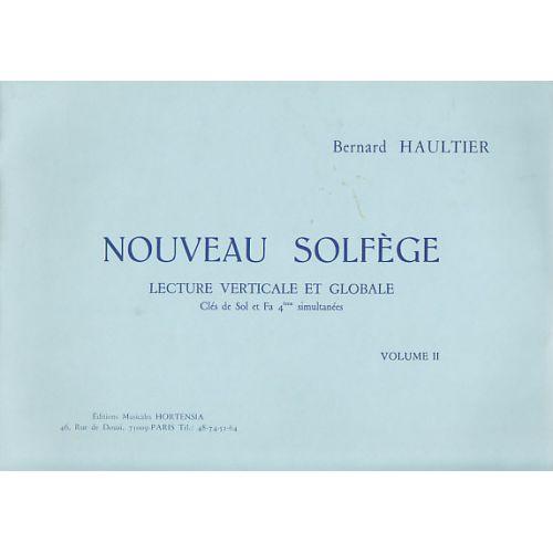 HORTENSIA HAULTIER BERNARD - NOUVEAU SOLFEGE VOL.2