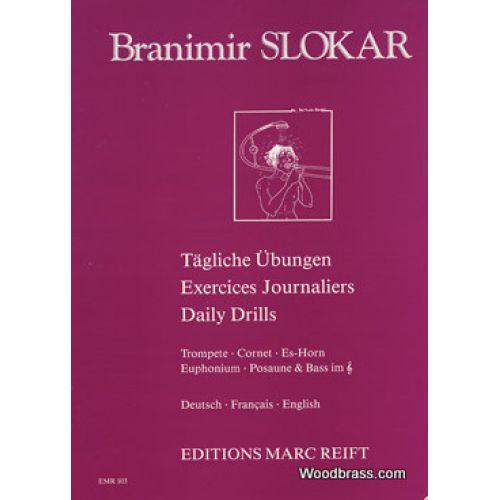 MARC REIFT SLOKAR BRANIMIR - EXERCICES JOURNALIERS - TROMPETTE