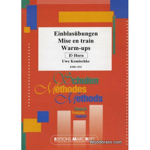 MARC REIFT KOMISCHKE UWE - WARM-UPS - Eb HORN