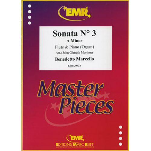 MARC REIFT MARCELLO BENEDETTO - SONATE N°3 A MINOR - FLUTE & PIANO