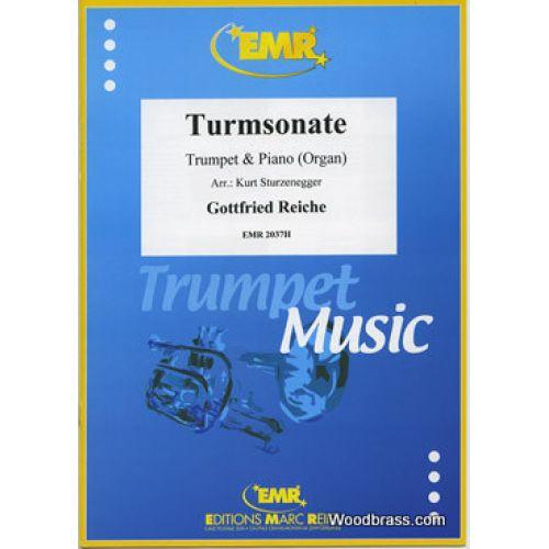 MARC REIFT REICHE G. - TURMSONATE - TROMPETTE & PIANO