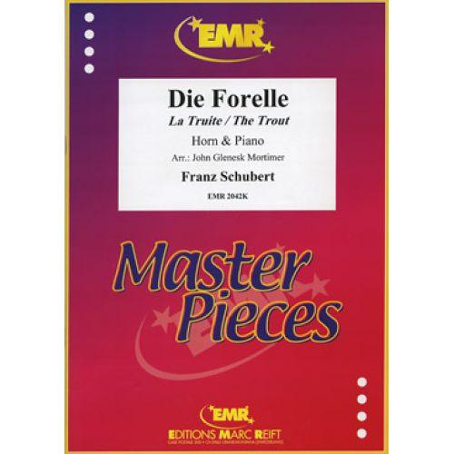 MARC REIFT SCHUBERT F. - DIE FORELLE - HORN & PIANO