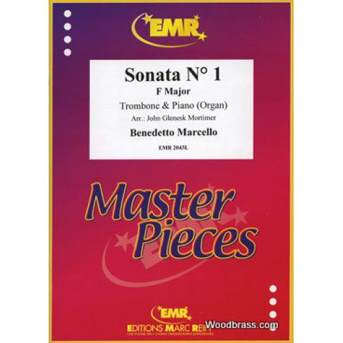 MARC REIFT MARCELLO B. - SONATA N°1 F MAJOR - TROMBONE & PIANO