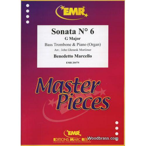MARC REIFT MARCELLO BENEDETTO - SONATA N°6 IN G MAJOR - BASS TROMBONE & PIANO